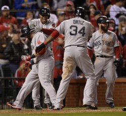 World Series Game 4 Boston Red Sox at St. Louis Cardinals