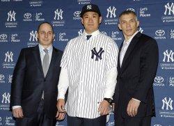Masahiro Tanaka press conference at Yankee Stadium