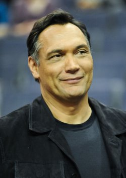 Actor Jimmy Smitts attends Wizards game in Wasington