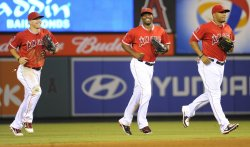 Los Angeles Angels vs Boston Red Sox in Anaheim, California