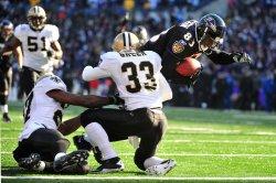 Ravens Ed Dickson scores in Baltimore