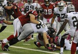The Atlanta Falcons play the Oakland Raiders in Atlanta