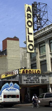 HARLEM APOLLO THEATRE RECEIVES $6 MILLION DOLLAR REVAMP