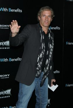 "Michael Bolton arrives for the ""Friends With Benefits"" Premiere in New York"