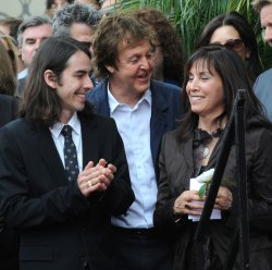George Harrison receives posthumous star on Hollywood Walk of Fame in Los Angeles