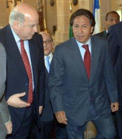 PERUVIAN PRESIDENT TOLEDO ADDRESSES OAS