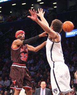 Nets vs Bulls at the Barclays Center