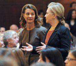 Melinda Gates, Hillary Clinton speak as USAID event in Washington