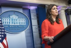Sarah Huckabee Sanders will take over as White House Press Secretary at the White House