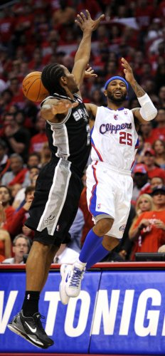 Los Angeles Clippers vs San Antonio Spurs Game 4 NBA Western Conference Semifinals in Los Angeles