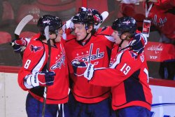 Capitals' Alexander Semin scores in Washington