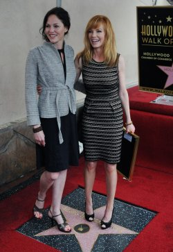 Marg Helgenberger receives a star on Hollywood Walk of Fame in Los Angeles