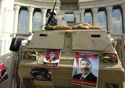 Protests in Egypt Against Trial of Ousted President Mohammed Morsi