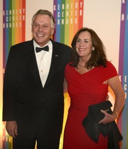 Terry McAuliffe arrives for 2013 Kennedy Center Honors Gala in Washington DC