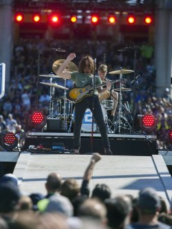 Soundgarden and Pharrell Williams performs in Seattle