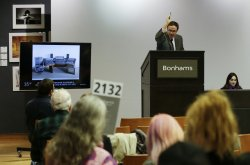 Rock and roll auction at Bonhams in New York
