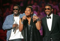 P Diddy, Queen Latifah and Pharrell co-host the SOS Saving Ourselves telethon