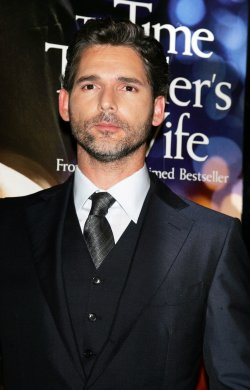 "Eric Bana arrives at the ""The Time Traveler's Wife"" Premiere in New York"