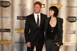 Sean Bean and Lena Headey attend Spike TV's Scream Awards in Los Angeles