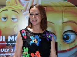 "Maya Rudolph attends ""The Emoji Movie"" premiere in Los Angeles"