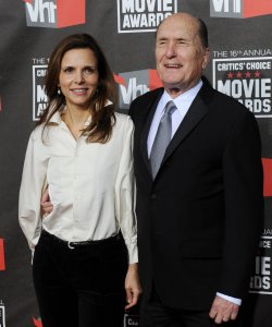 Actor Robert Duvall and wife Luciana Pedraza arrive at the 16th annual Critics' Choice Awards in Los Angeles
