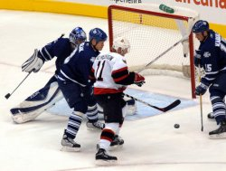 TORONTO MAPLE LEAFS VS OTTAWA SENATORS