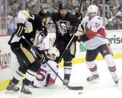 Pittsburgh Penguins Paul Martin in Pittsburgh