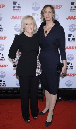 Glenn Close and Janet McTeer attend the AARP Movies for Grownups Award Gala in Beverly Hills