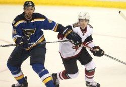 Arizona Coyotes rookie Clayton Keller plays in first NHL game