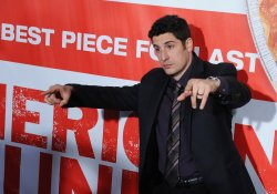 "Jason Biggs attends the ""American Reunion"" premiere in Los Angeles"