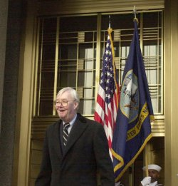 FEDERAL COURT BUILDING NAMED IN HONOR OF SENATOR MOYNIHAN