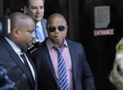 Randy Jackson leaves the courthouse following Dr. Conrad Murray's sentencing in Los Angeles