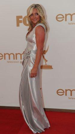 Jane Krakowski arrives at the Primetime Emmy Awards in Los Angeles