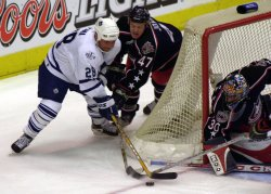 TORONTO MAPLE LEAFS vs COLUMBUS BLUE JACKETS