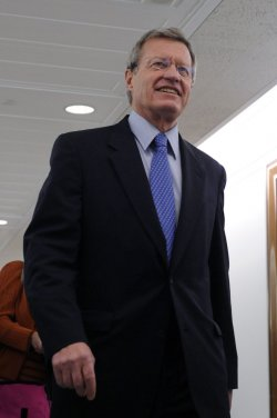 Senate Finance Committee meets with Daschle on Capitol Hill in Washington