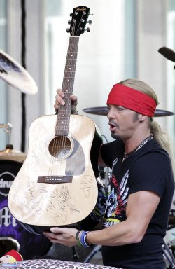 Bret Michaels performs on Fox & Friends All American Summer Concert Series