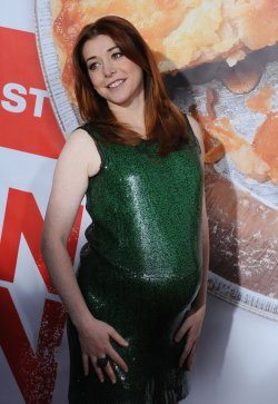 "Alyson Hannigan attends the ""American Reunion"" premiere in Los Angeles"