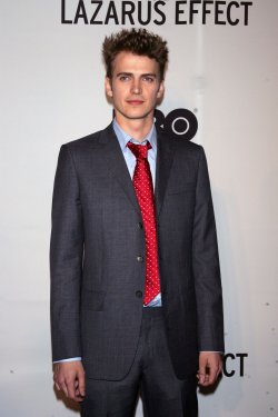 """Hayden Christensen arrives for the Premiere of """"The Lazarus Effect"""" in New York"""