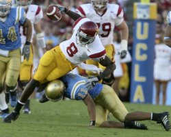 USC TROJANS VS UCLA BRUINS