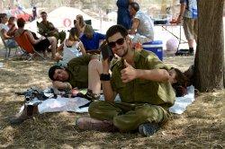 Israeli Soldiers Meet Family Members