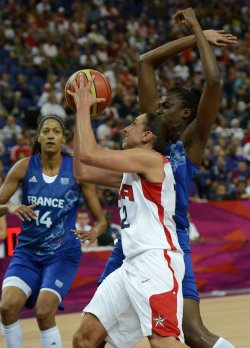 USA-France Gold Medal women's basketball at 2012 Summer Olympics in London