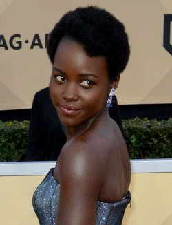 Lupita Nyong'o attends the 24th annual SAG Awards in Los Angeles