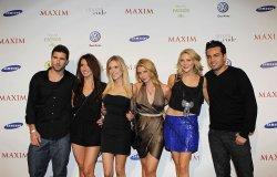 Brody Jenner, Audrina Patridge, Kristin Cavallari, Lo Bosworth, Stephanie Pratt and Frankie Delgado at the 2010 Maxim Party in Miami Beach