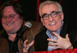2007 OSCAR WINNER MARTIN SCORCESE IN A PANEL DISCUSSION OF HIS FILM 'THE DEPARTED'