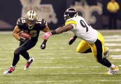 New Orleans Saints vs Pittsburgh Steelers at the Louisiana Superdome