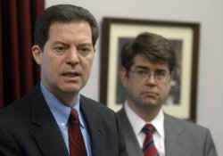 BROWNBACK SPEAKS ON THE PARENTS TAX RELIEF ACT IN WASHINGTON