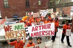 Arthur Andersen march