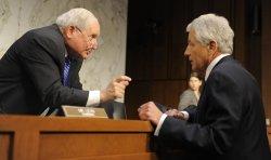 Defense Sec Hagel and Gen Dempsey testify on Capitol Hill in Washington
