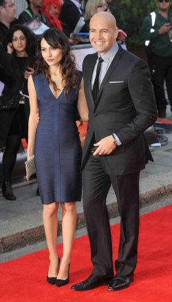 "Billy Zane and Jasmina Hdagha attend the World Premiere of ""Titanic 3D"" in London"