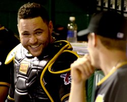 Pittsburgh Pirates Russell Martin in Pittsburgh